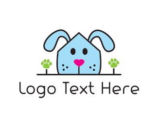 Puppy - Dog House logo design