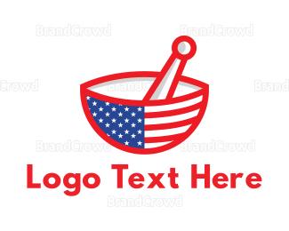 Mortar - American Mortar logo design