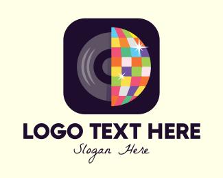 Disco - Disco Music App logo design