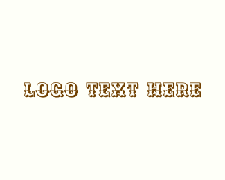 Navajo - Wild West logo design