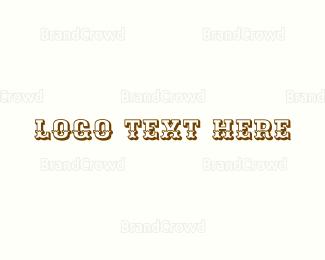 Cowboy - Wild West logo design