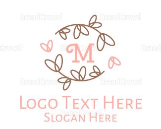Beauty Store - Cute Lovely Lettermark logo design
