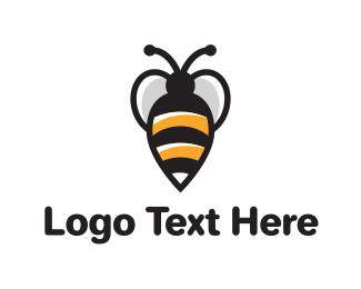 Honeybee - Bee logo design
