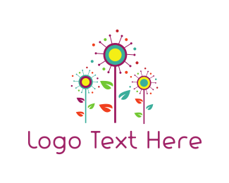 Garden - Colorful Garden logo design