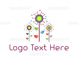 Fest - Colorful Garden logo design
