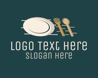 Cater - Kitchen Cutlery logo design