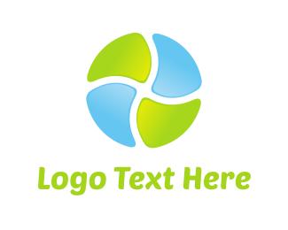 Gradient - Colorful Circle logo design