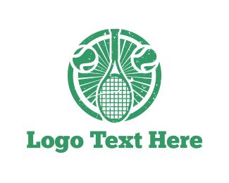 """Tennis Emblem"" by Levon"