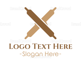 Bakeshop - Bakery Rollin Pins logo design