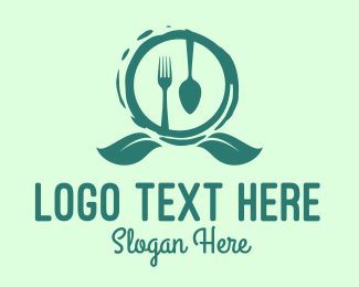 Vegetarian - Vegetarian Restaurant Emblem logo design
