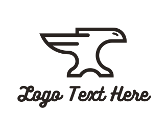 Iron - Iron Eagle logo design