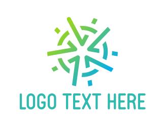 Five Star - Mint Star logo design