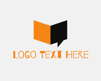 Speak - Book Speech logo design