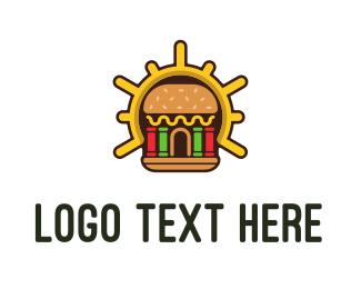 Burger Bar - Burger Shop logo design