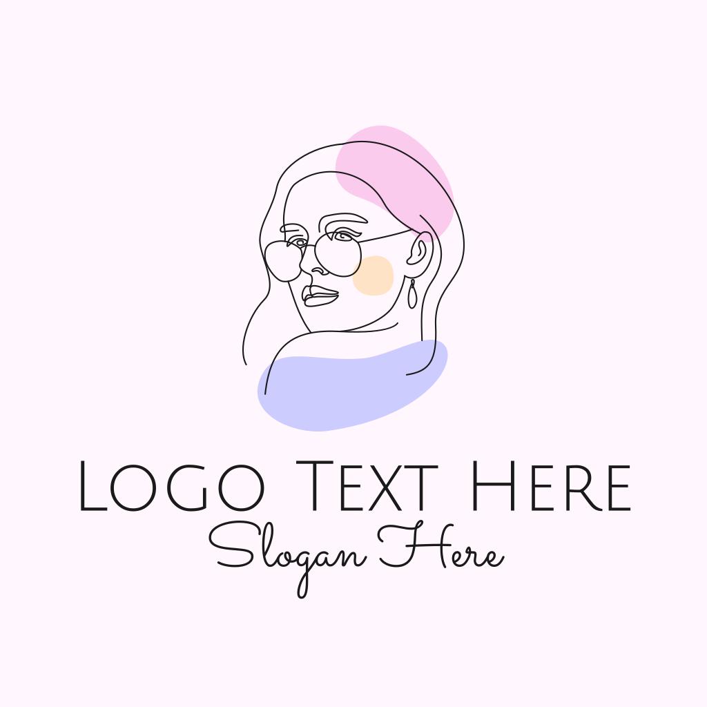 Fashion Woman Sunglasses Logo