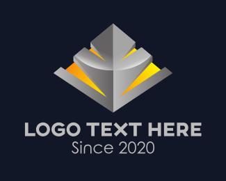 3D Business Company Logo