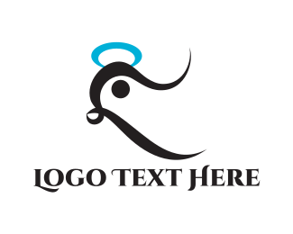 Halo - Holy Bird logo design