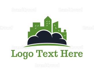 Downtown - Cloud City logo design