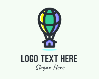 Air Balloon - International Home Builder  logo design