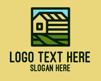 Farmhouse - Rural Farm House  logo design