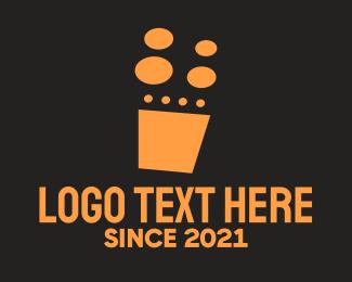 Range - Gold Stove logo design