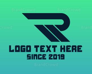 Petroleum - Modern Fast R logo design