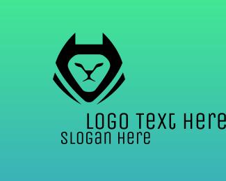 Bat - Bat Cat  logo design