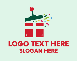 Celebrate - Surprise Gift Game logo design