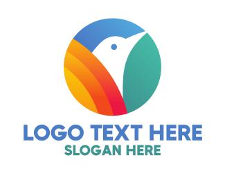 Aviary - Bird Circle logo design