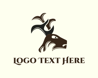 Attorney - Deer Antlers logo design
