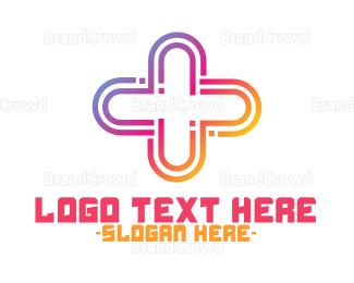 Generic - Gradient Plus logo design
