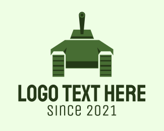 """Green Military Tank "" by FishDesigns61025"