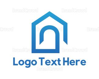 Entry - Blue Home logo design