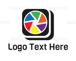 Camera App - Colorful Camera App logo design