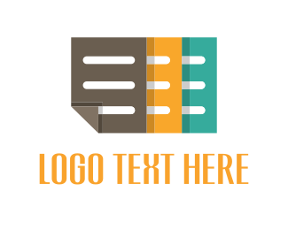 Document - Color Notes logo design