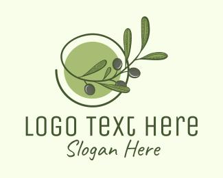 Produce - Olive Branch logo design