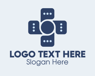 Message Bubble - Medical Chat App  logo design