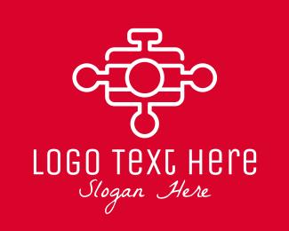 Photography - Camera Puzzle  logo design