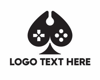 Game Console - Ace Console Controller logo design
