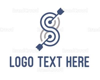 Target - Blue Target logo design