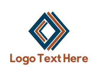 Decor - Diamond Tiles logo design
