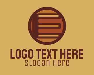 Construction - Retro Vintage Letter E logo design