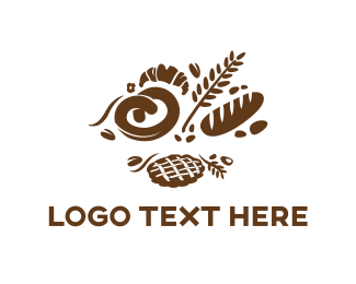 Wheat - Bakery & Pastry logo design