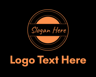Circle - Orange Circle logo design