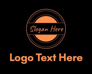 Soap - Orange Circle logo design