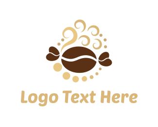 Steam - Coffee & Sweet logo design