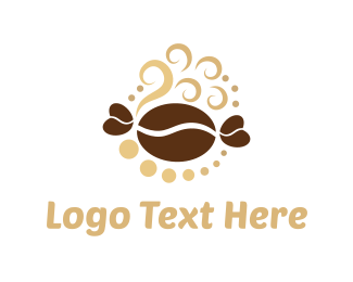Cupcake - Coffee & Sweet logo design