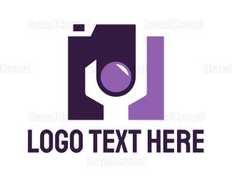 Hardware - Wrench Camera Media logo design