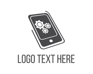 Customer Service - Mobile Engine logo design
