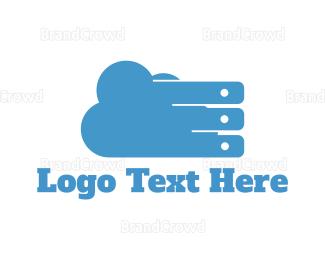 Storage - Tech Cloud logo design